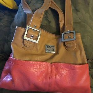 Two tone purse
